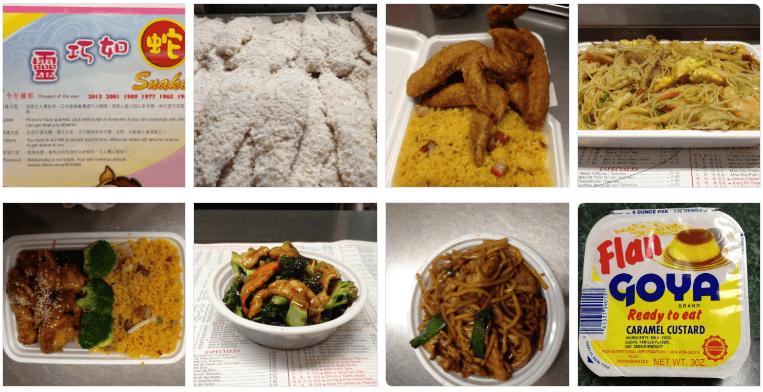 Chinese food at Wah Sing Kitchen