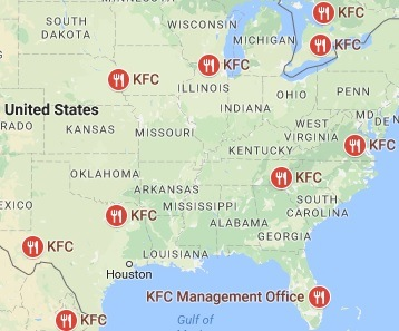 KFC Locations