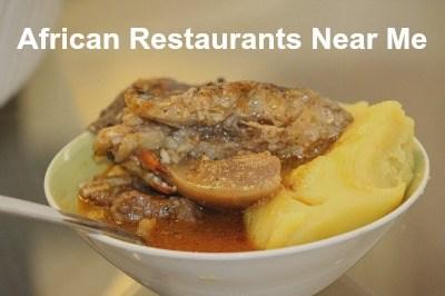 African restaurants near me