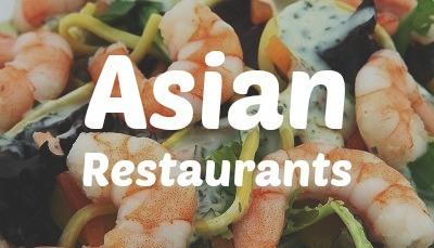 Asian restaurants near me