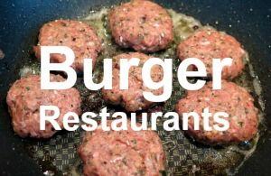 Burger restaurants near me