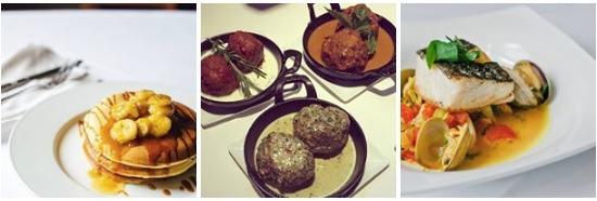 Food at Davios Northern Italian Restaurant Atlanta