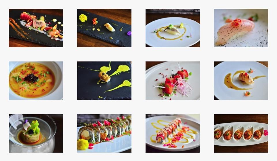 Food at Eight Sushi Restaurant Atlanta