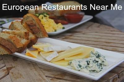 European restaurants near me