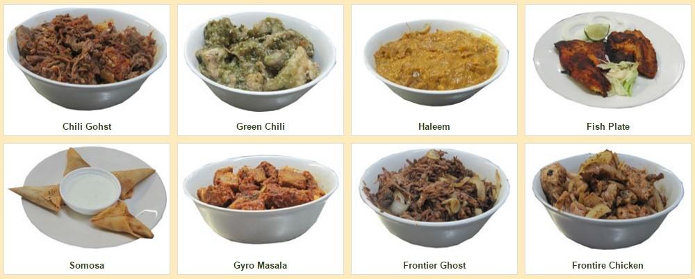 Ghareeb Nawaz Restaurant Chicago Menu Items