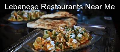 Lebanese restaurants near me
