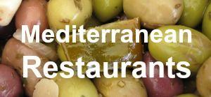 Mediterranean restaurants near me