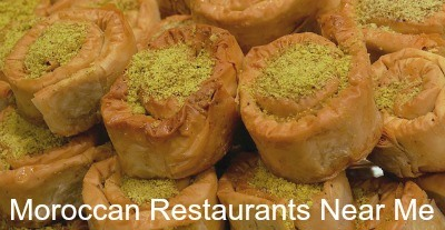 Moroccan restaurants near me