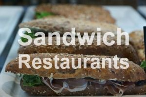 Sandwich restaurants near me