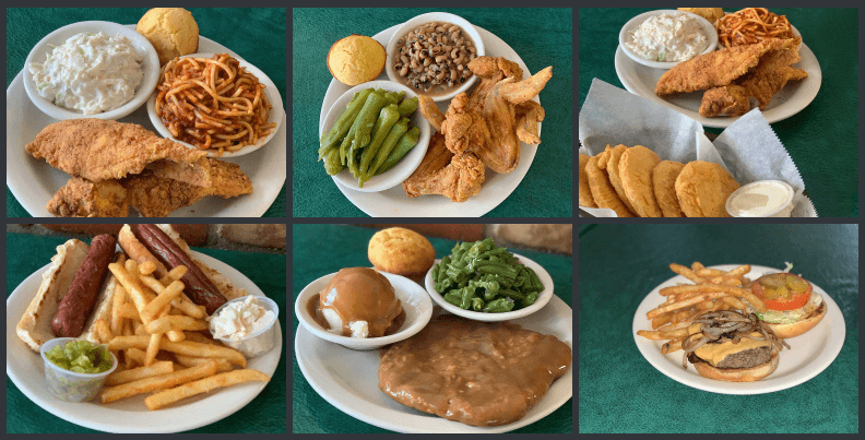 Soul Food at The Four Way Restaurant Memphis