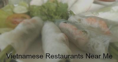 Vietnamese restaurants near me