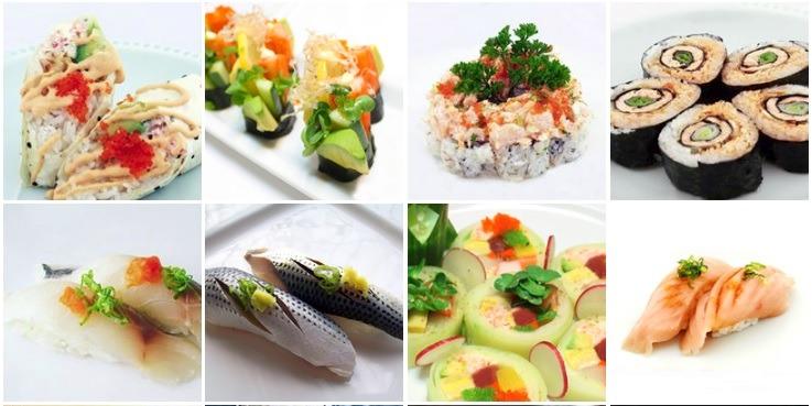 Japanese food at Bluefin Sushi San Jose