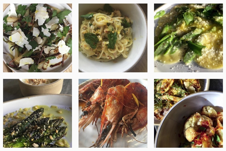 Italian food at Lilia Brooklyn