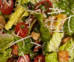 Salad at Canlis Seattle