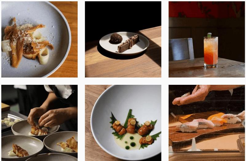 Chef dishes at Uchi Restaurant