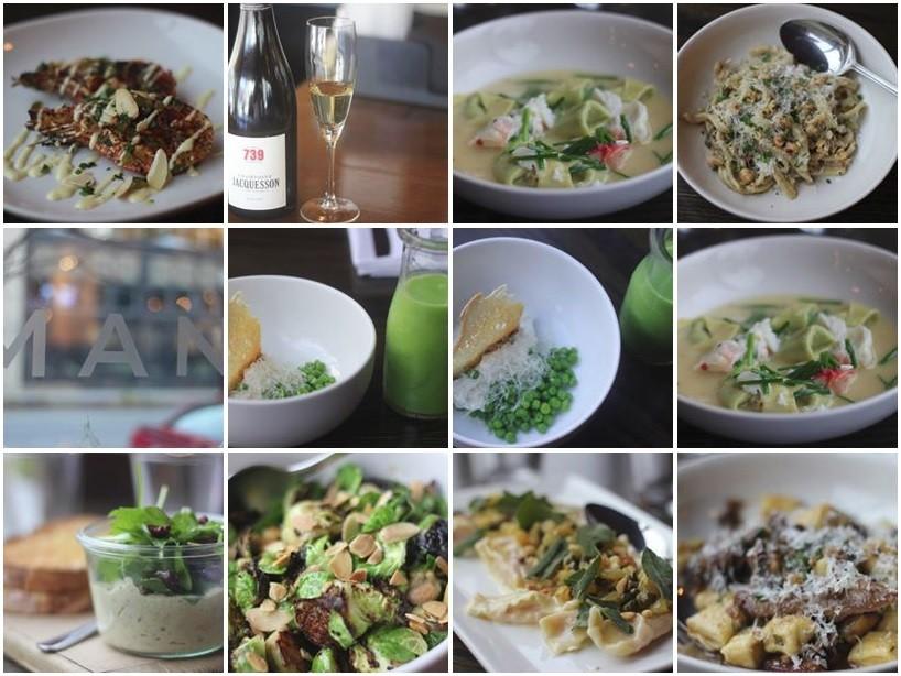 Italian food at Mani Osteria Ann Arbor