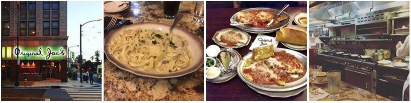 Food at Original Joe's