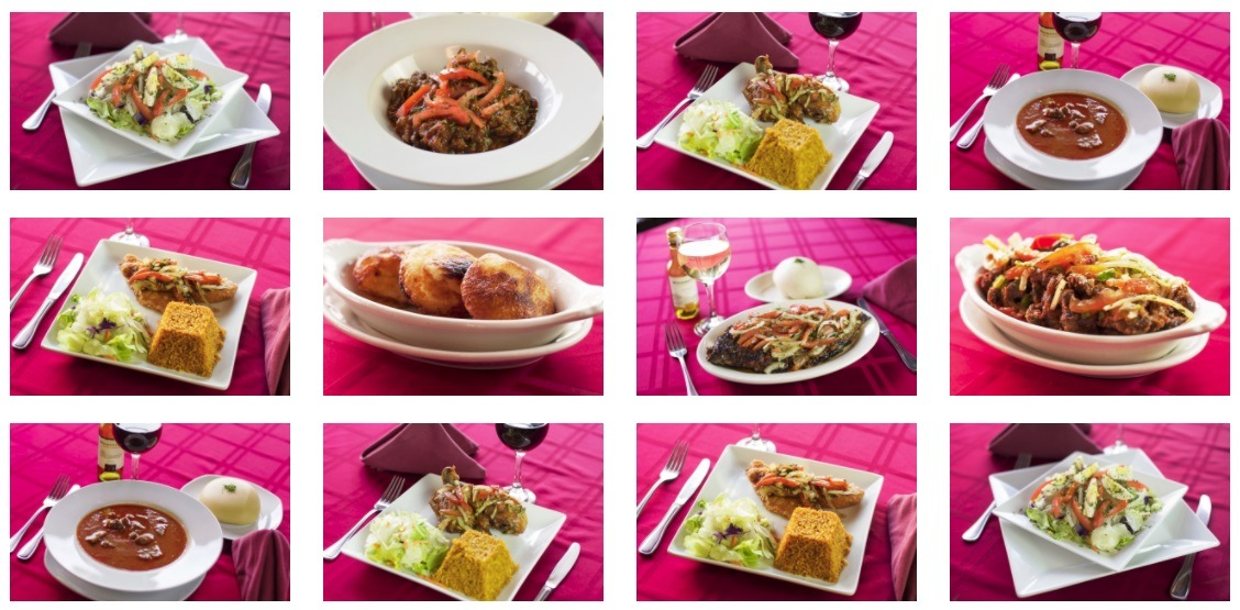 African food at Drelyse Columbus