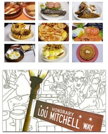 Breakfast at Lou Mitchells Restaurant Chicago