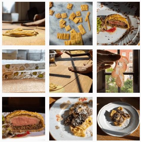 Italian food at Vetri Cucina