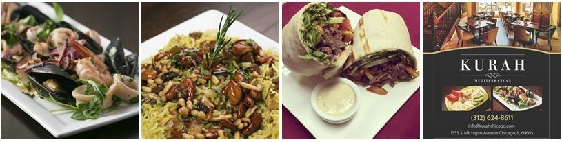 Mediterranean food at Kurah Chicago