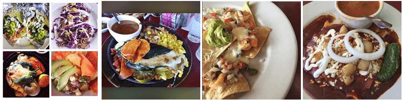 Mexican food at Rosario's restaurant San Antonio