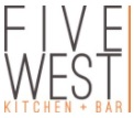 Five West Kitchen and bar logo
