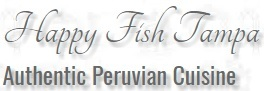 Happy Fish Tampa authentic Peruvian cuisine logo