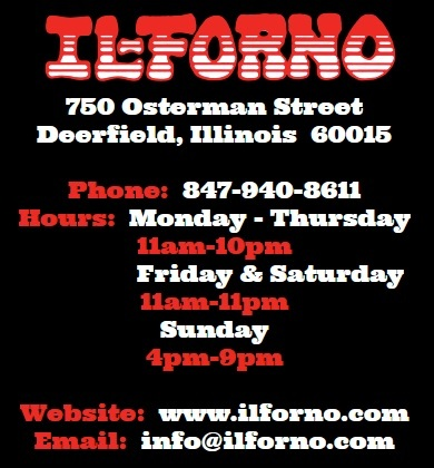 IL Forno Restaurant Address, Hours and Number
