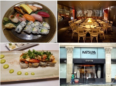 Japanese food at Katsuya Hollywood