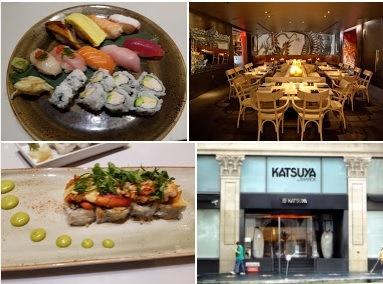 Japanese food at Katsuya Hollywood