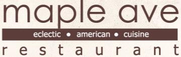 Maple Ave Restaurant eclectic american cuisine logo