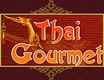 Thai gourmet restaurant logo