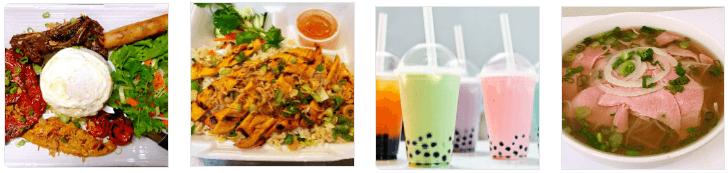 Vietnamese food at Pho 85 restaurant
