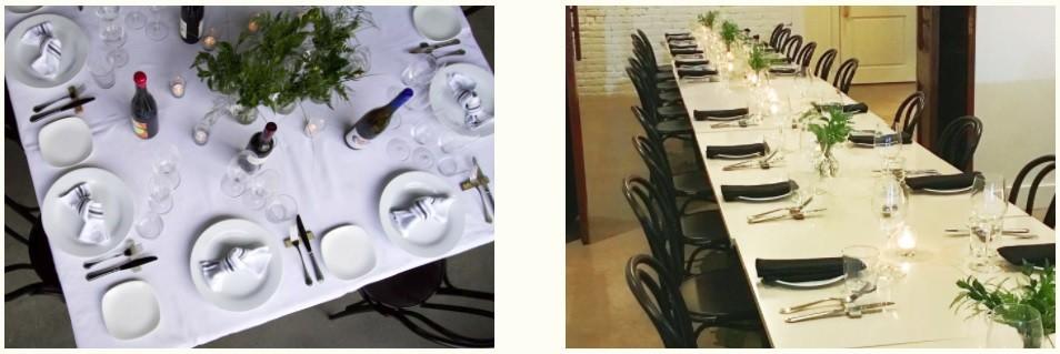 Alma dining rooms