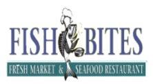 Fish Bites seafood restaurant logo