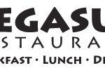 Pegasus Restaurant breakfast lunch dinner logo