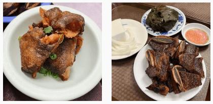 Steaks and chicken at Helena's Hawaiian Food