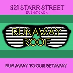 321 Starr Street Runaway Roof Bushwick BK logo