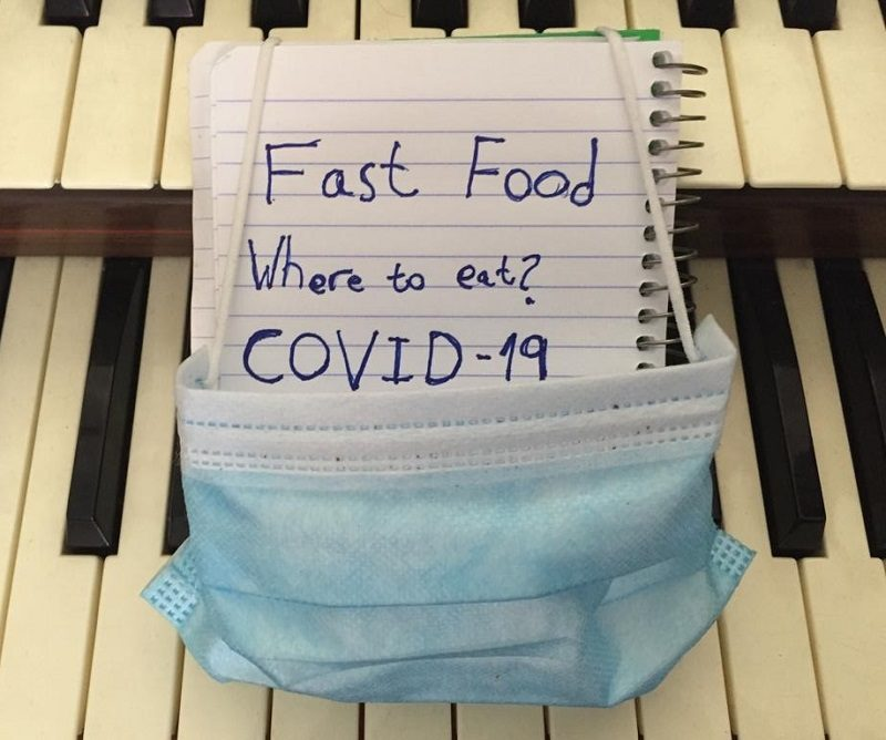 Where to eat fast food COVID-19