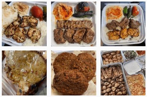 Kababs at Mini Kabob